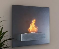 Wall Mount Fireplace way cool