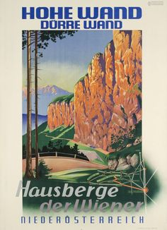 1935 Hotels in Austria vintage travel poster Austria, All Over The World, Around The Worlds, Original Vintage, All Poster, Berg, Vintage Travel Posters, Hotels, Image