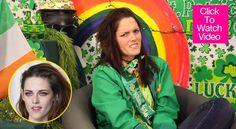 'Kristen Stewart' Explains St. Patrick's Day — Funny Video