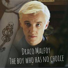 Draco Malfoy The Boy Who Has No Choice Draco Malfoy Quotes, Harry Potter Draco Malfoy, Harry James Potter, Harry Potter Fandom, Harry Potter Characters, Hermione, Tom Felton, Draco Malfoy Aesthetic, Hogwarts