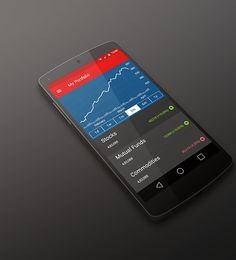 Stock Trading App on Behance