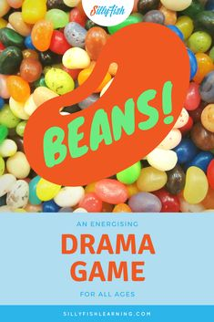 Beans is a super effective warm-up drama game for students of all ages. It's even preschool suitable and has endless possible variations. Try it today to get your class energized!