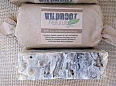 Dirty Boy Antibacterial Soap Eucalyptus Tea by WildrootNaturals, $6.00