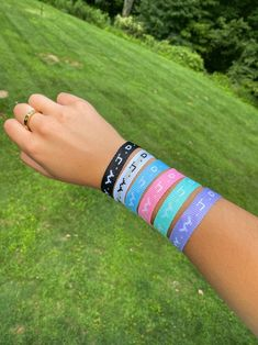 The classic WWJD (What would Jesus do?) bracelets you grew up with. This pack includes 6 WWJD bracelets that are fully adjustable to fit any wrist size. What Would Jesus Do, Christian Bracelets, Christian Clothing, Jewelry Companies, Promise Rings, Cuff Bracelets, Packing, Faith, Brand Ambassador