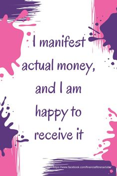 "Wealth affirmation, from the 'Wealth Journal - Change Your Money Mindset in 90 days"" Use the Law of Attraction and affirmations to improve your mindset and your wealth!"