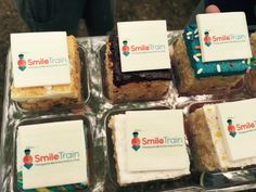 Smile Train is an international children's charity with a sustainable approach to a single, solvable problem: cleft lip and palate. Cleft Lip, Fundraising Ideas, Train, Smile, Baking, Unique, Cake, Desserts, Food