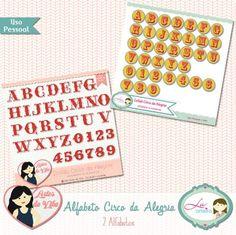Alfabeto Circo da Alegria by Lu Arteira e Vika Matos