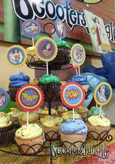Cupcakes are wonderful at our Private Parties!