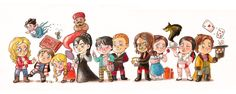 Fan Art Friday #49 – ONCE UPON A TIME | Nerdist