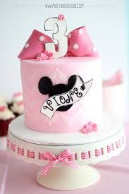 simple fondant minnie mouse cakes - Google Search