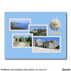 briefkaart voor Lubenice, Cres, Kroatië