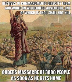 Moses - Thou shall not kill - Imgur