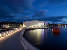 3XN bridges mandalselva river to reach buen cultural centre in #norway