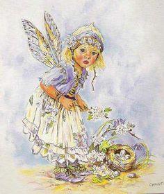 Troll, Rose Oil Painting, Fairy Paintings, Fairy Statues, Baby Fairy, Fairytale Art, Beautiful Fairies, Flower Fairies, Fantasy Illustration