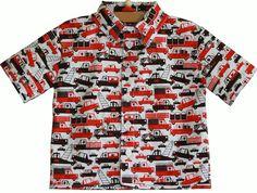 Naaipatroon blouse/overhemd jongen tot maat 86 (baby). Gratis van Droomfabriek!