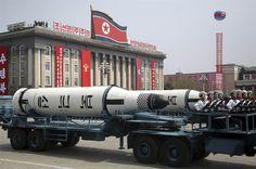 Coreia do Norte exibe seu novo modelo de míssil ICBM