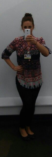 Aztec top from rue 21