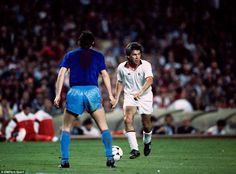 Carlo Ancelotti, AC Milan during 1989 European Cup final