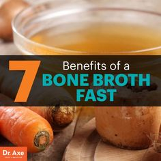 Bone broth fast - Dr. Axe http://www.draxe.com #health #holistic #natural