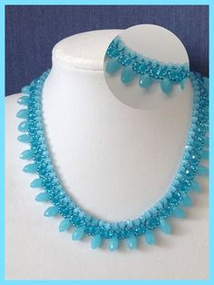Necklace with drops