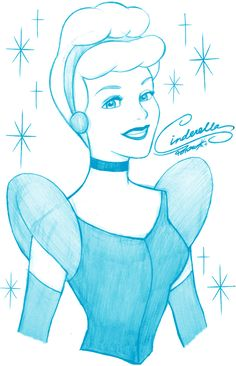 New Ideas drawing disney princesses cinderella Disney Princess Sketches, Disney Drawings Sketches, Disney Princess Cinderella, Drawing Sketches, Drawing Disney, Disney Princesses, Sketching, Drawing Cartoon Characters, Character Drawing