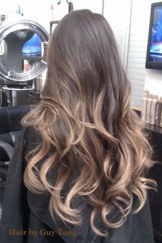 dark brown hair with ash blonde ombre - Google Search