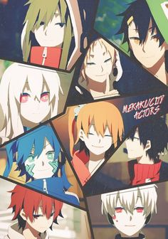 Mekakucity Actors Haven't seen this yet, but I really want to. I recently got into the Kagerou Project, and am still confused about A LOT, but I love the songs and the story is very intriguing
