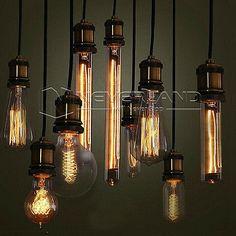 E27 40W Edison Vintage Retro Glühlampe Filament Retro Nostalgie Glühbirne Bulb in Leuchtmittel | eBay