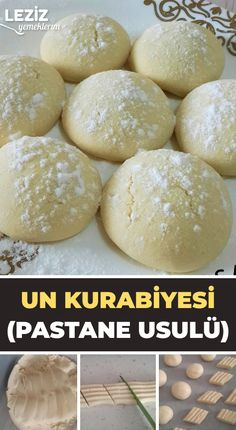 Un Kurabiyesi (Pastane Usulü), Cookie Recipes Easy Cake Recipes, Cookie Recipes, Macaron Recipe, Best Cheese, Spinach Stuffed Chicken, Easy Meals, Food And Drink, Spice Things Up, Bread