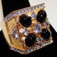 Designed byElvis' Jeweler Lowell Hays...The Last Concert Ring