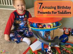 7 Amazing Birthday Presents For Toddlers