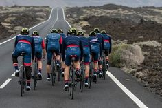 Our friends of Team Cervelo are flying their new colors and sponsors on their trainingcamp, looking good guys! A Good Man, Cycling, Personalized Items, Guys, Friends, Colors, Amigos, Biking, Bicycling