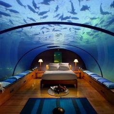 Resort in the Maldives islands