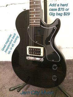 Epiphone Les Paul Junior Electric B Stock Guitar Ebony Set Up Nice Entry Level 711106325200 | eBay