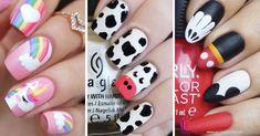 Teen Nails, Nail Art For Kids, Disney Nails, Fall Nail Designs, Manicure And Pedicure, Acrylic Nails, Nail Polish, Essie, Valentines