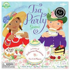 Tea Party Spinner Game - Oompa Toys