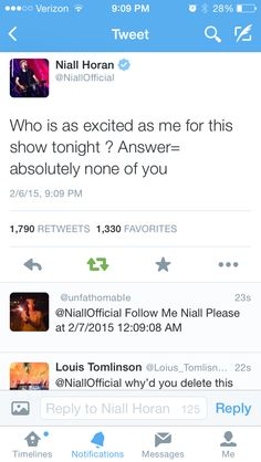 I AM EXCITED NIALL
