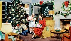Here's for Happier Holidays in Your Home jigsaw puzzle in Christmas