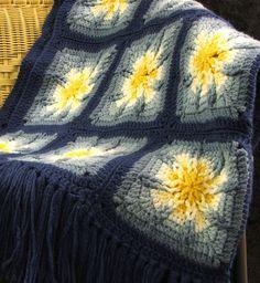 -Crochet Pattern Leaflet AMAZING STAR AFGHANS Very Unique! - Afghan ...