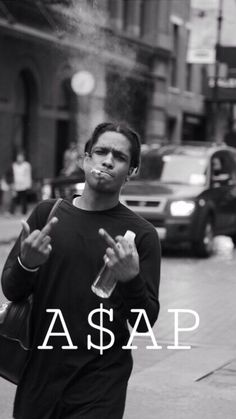 A$AP ROCKY Rapper Wallpaper Iphone, Rap Wallpaper, Black And White Photo Wall, Black And White Pictures, Asap Rocky Wallpaper, Rapper Art, Dave Rapper, Travis Scott Wallpapers, Pretty Flacko