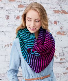 Brighten My Day Wrap Free Knit Pattern LW5817  THIS IS KNIT EASY TO CONVERT TO CROCHET