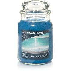 American Home by Yankee Candle Peaceful Beach, 19 oz Large Jar - Walmart.com