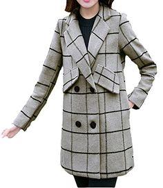 MEXI Women's Winter Lapel Two Button Plaid Long Woolen Coat Clothes Outerwear Mexi http://www.amazon.com/dp/B016WGF65E/ref=cm_sw_r_pi_dp_UCDkwb0ERZNE9