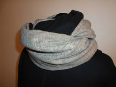 tuto snood homme couture