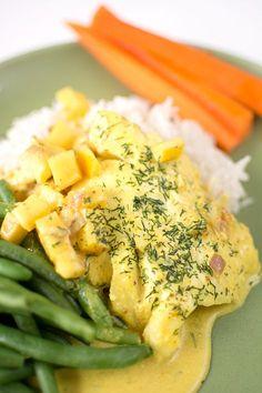 Torsk i currysås med äpple och dill | Middagstips & enkla recept på vardagsmat
