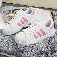 Adidas Super Star Dupe Sneakers (2 colors ) via Cloud 97. Click on ...