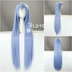 Akame ga KILL! General Esdeath smokey blue cosplay wig. #anime #akamegakill