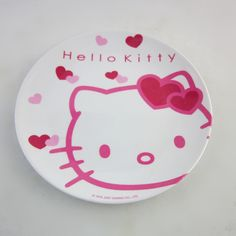 free shipping 5pcs/lot hello kitty plate round tray melamine kids tableware dinnerware wholesale children's day gift-in Dishes  Plates from Home  Garden on Aliexpress.com $21.15