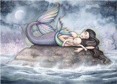 Sweet Moment of Bliss by MollyHarrisonArt
