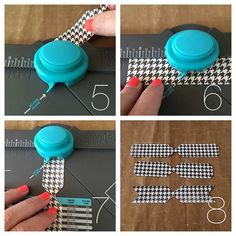 Paper Bow using We R Memory Keepers Envelope Punch Board